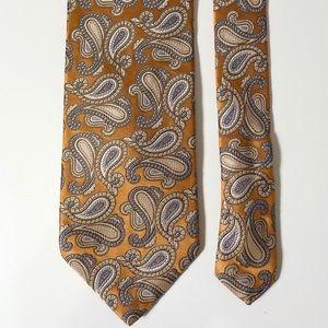 Bugatti Paisley print imported Silk Tie